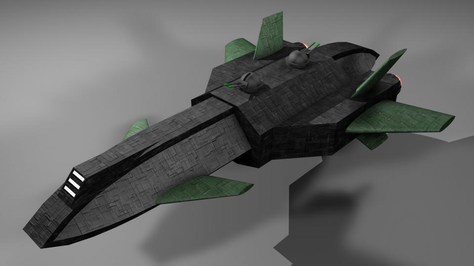 Die Argosy war eines der vielseitigsten Schiffe im Spiel. Ursprünglich als Frachter entwickelt, der Güter an gefährlichere Orte leifern sollte, konnte sie auch in ein fähiges Kriegsschiff verwandelt werden. Sie besaß etwas weniger Frachtraum als der Light Freighter, verfügte jedoch über bessere Verteidigungssysteme und mehr Raum für Erweiterungen.