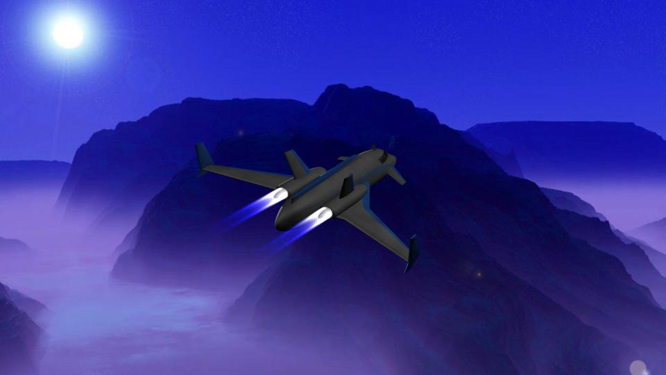 The player would sometimes encounter Clippers piloted by pirates. Its proton bolt cannons and javelin rockets made it a dangerous enemy for smaller ships, like Shuttles or Couriers.