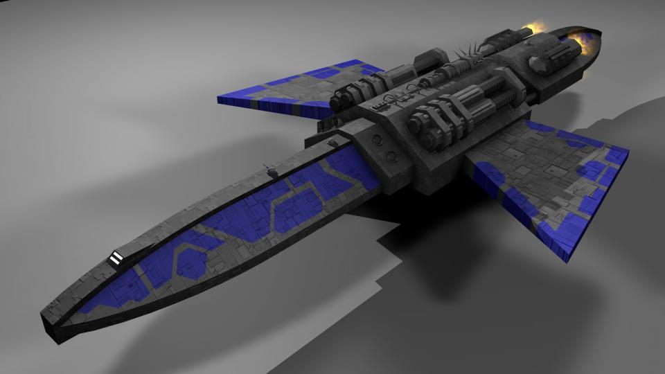 Der Kreuzer war vermutlich das stärkste Schiff im Spiel, welches der Spieler erhalten konnte. Er trug Patrolships und Gunboats an Bord und konnte jedes andere Schiff mit Leichtigkeit übertreffen
