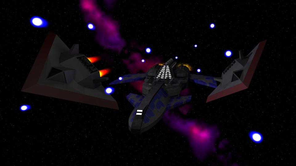The frigate had a good range and was used to patrol the core systems. It became available to players who gained significant standing with the Confederation.
