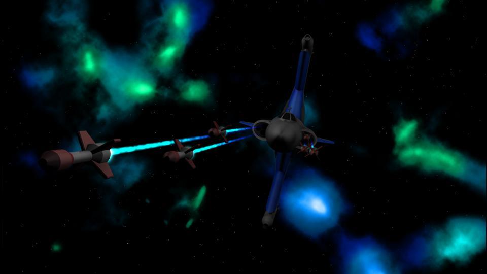 Das Design des Gunboats ist an das Skipray Blastboat aus StarWars angelehnt. Wie bei der Sipray nehmen die Flügel im All eine vertikale Position ein und rotieren beim Eintritt in die Atmospäre, sowie beim Sprung in den Hyperraum, in horizontale Position.