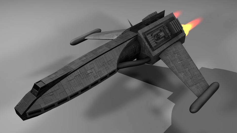 Der Executive Transport war eines der Schiffe, das der Spieler nicht kaufen konnte. Er war mit einem Lear Jet vergleichbar und wurde von Geschäftsleuten und reichen Personen als persönliche Transportmöglichkeit genutzt.