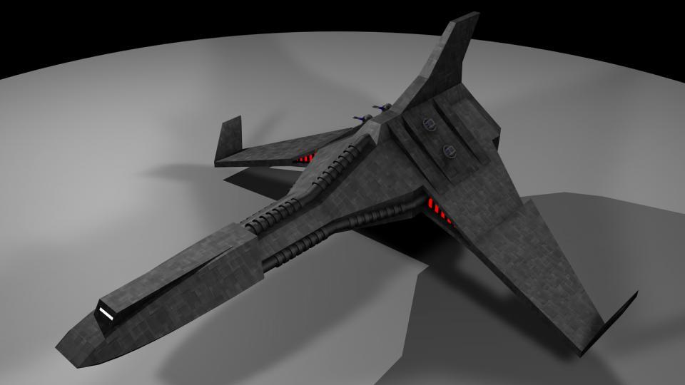 Die Kestrel war das stärkste zivile Schiff, das dem Spieler zur Verfügung stand. Für ein Schiff ihrer Größe war sie recht manövrierfähig. Außerdem war sie mit Protonenblitzgeschützen, Raketen und Torpedos bestückt, und trug zwei Lightning Fighter/Bombers an Bord.