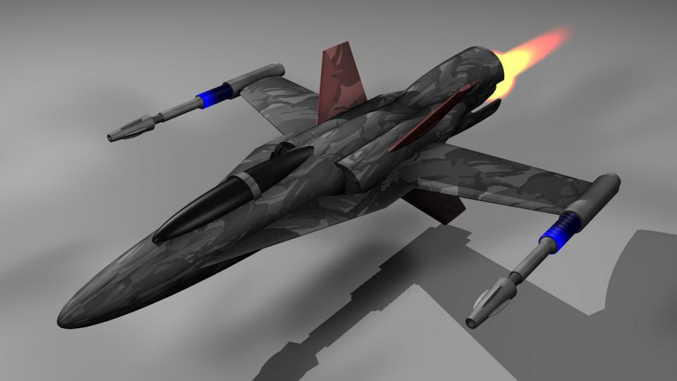 Die Lightning war der beste Jäger, den ein Zivilist bekommen konnte, und er wurde von Piraten favorisiert. Bewaffnet mit Kanonen, zielsuchenden Raketen und schweren Raketen konnte sie selbst für größere Schiffe gefährlich werden. Sie war jedoch auch sehr teuer. Die Kestrel konnte zwei dieser Schiffe in ihrem Hangar tragen.