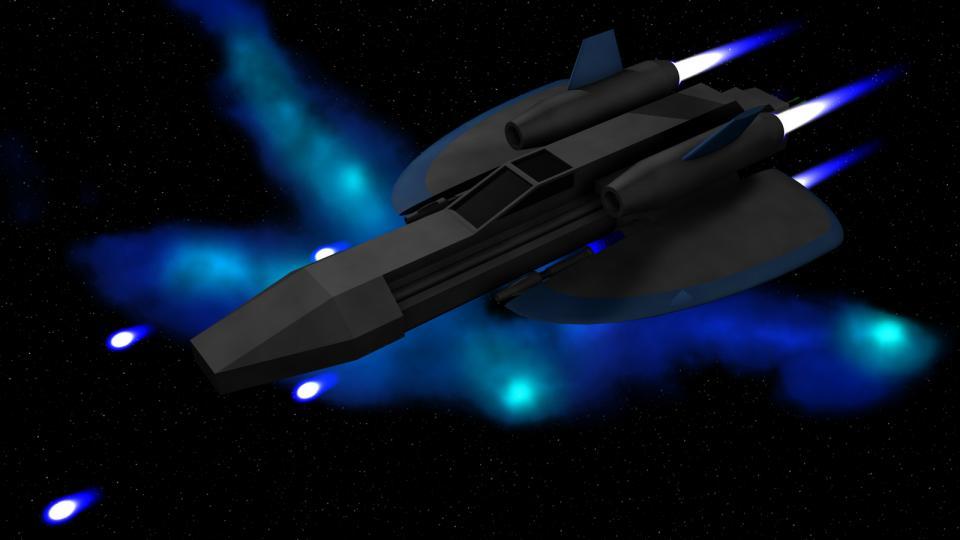 Die Rapier besaß eine einzigartige Waffe, die weder verkauft, noch für ein anderes Schiff gekauft werden konnte: ein Lasergeschütz am Heck, das nur auf Ziele hinter dem Schiff schießen konnte.