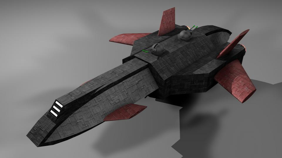 Der Destroyer war das Rückgrat der Rebellenflotte. Grundsätzlich ist er eine stark modifizierte und aufgerüstete Argosy. Darum war er relativ billig und konnte schnell in großen Mengen produziert werden. Rebellische Scheinfirmen kauften diese Schiffe, die dann in geheimen Schiffswerften umgebaut wurden.