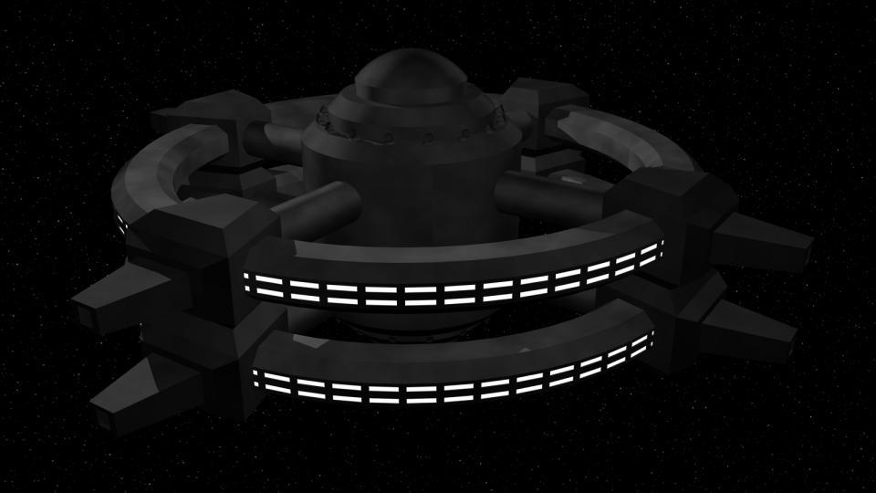 Typ 2 Stationen waren größere Habitate. Man fand sie für gewöhnlich im Orbit von bewohnten Planeten, wo sie meist als Handelsposten dienten.