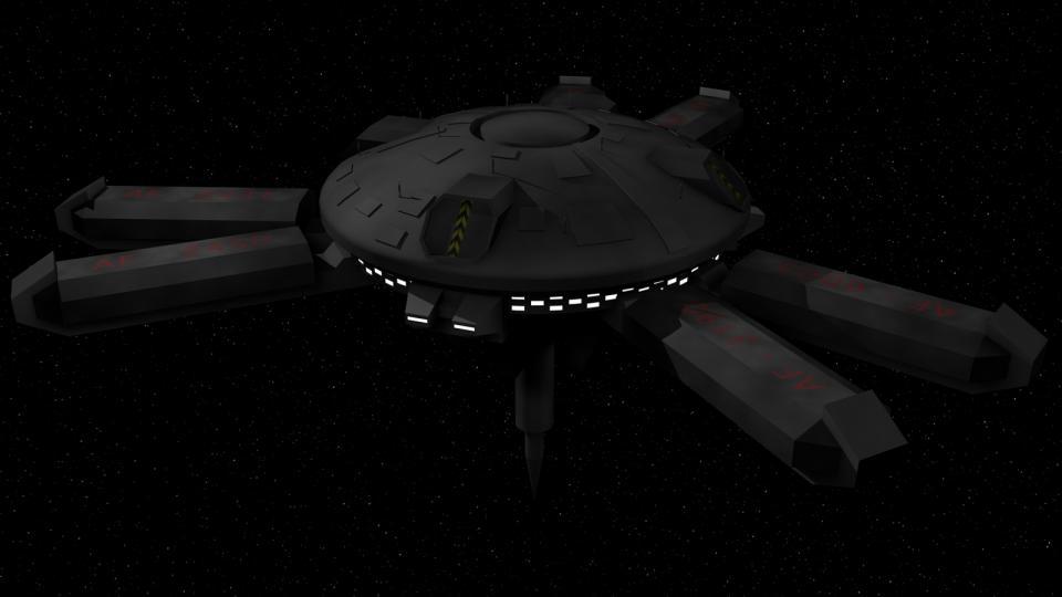 Typ 3 Stationen waren Schiffswerften. Man fand sie meist im Orbit von fortschrittlichen Welten, wie der Erde.