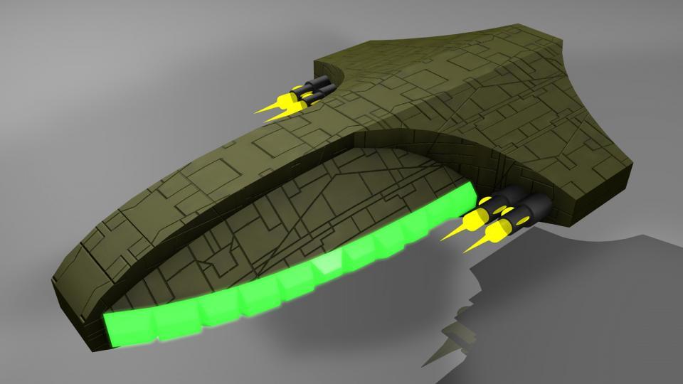 Diese Version der Arada war um einiges schneller als das Original und hatte etwas mehr Feuerkraft.