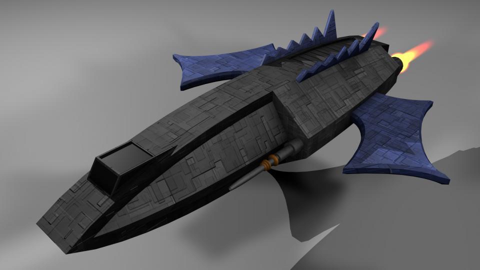 Die Helian war ein semi-legales Schiff, das gerne von Renegaten verwendet wurde. Offiziell war es als Kurierschiff deklariert. Bewaffnet mit Blazekanonen und zielsuchenden Raketen besaß es jedoch die Feuerkraft eines kleinen Kriegsschiffs.