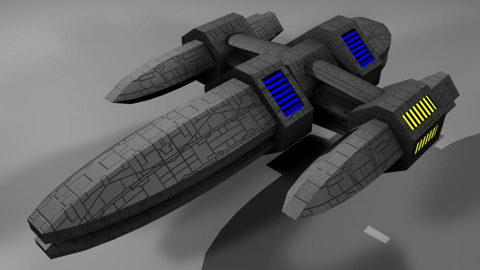 The Lazira was designed to fill the gap between the Arada and the Crescent Warship. I can't say too much about it, as I hardly ever used one. I usually went from the Arada directly to the Crescent Warship, or had a faction ship available at that time.