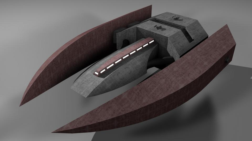 Der Cruiser trug eine große Anzahl Interceptors und Fighters an Bord. Er spielte zwar eine ähnliche Rolle wie der UE Carrier, war im Gegensatz zu diesem jedoch auch im direkten Kampf sehr stark. Diese Schiffe waren extrem schwer zu überwinden, ohne erhebliche Feuerkraft war es unmöglich, ihre dicke Panzerung aufzubrechen.
