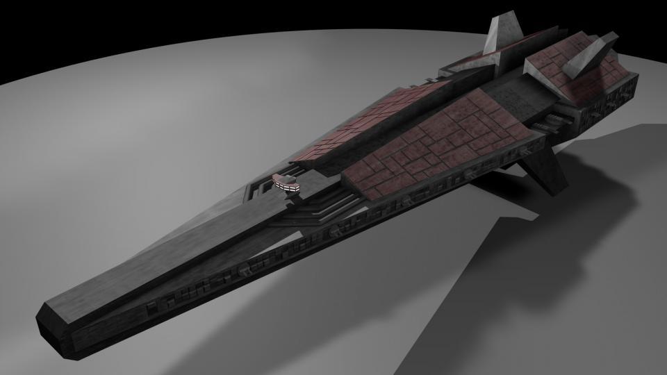 Die Dreadnaught tauchte nur einmal auf, während einer Spähmission. Sie war ein gewaltiges, furchteinflößendes Schiff, bis zu den Zähnen mit Neutronengeschützen und Raketengeschützen bewaffnet. Außerdem besaß sie Hangars voller Interceptors und Heavy Fighters.