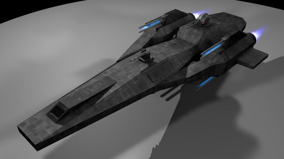 Die Chiron ist ein einfaches Design, bewaffnet mir vier Railguns, zwei Lasergeschützen und zwei Massetreibergeschützen. Er ist auf dem zivilen Markt verfügbar nd unter Söldnern, Kopfgeldjägern und Piraten beliebt. Die Chiron wird eine Rolle in Revenant Wraith übernehmen. Erstellt Mai 2006