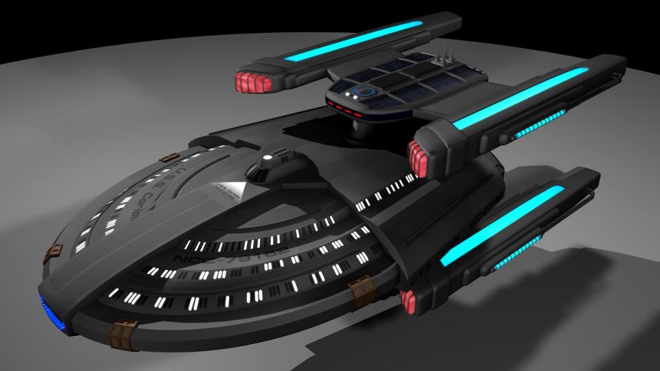 Die Coriolis wurde als schnelles, starkes Angriffsschiff entwickelt, um gegen die Borg zu kämpfen. Sie trägt experimentelle Ionentorpedos um Borgtechnologie auszuschalten. Das hat zwar eine Weile funktioniert, die Borg passten sich jedoch an. Dennoch ist die Coriolis noch immer ein hervorragendes Kriegsschiff.
