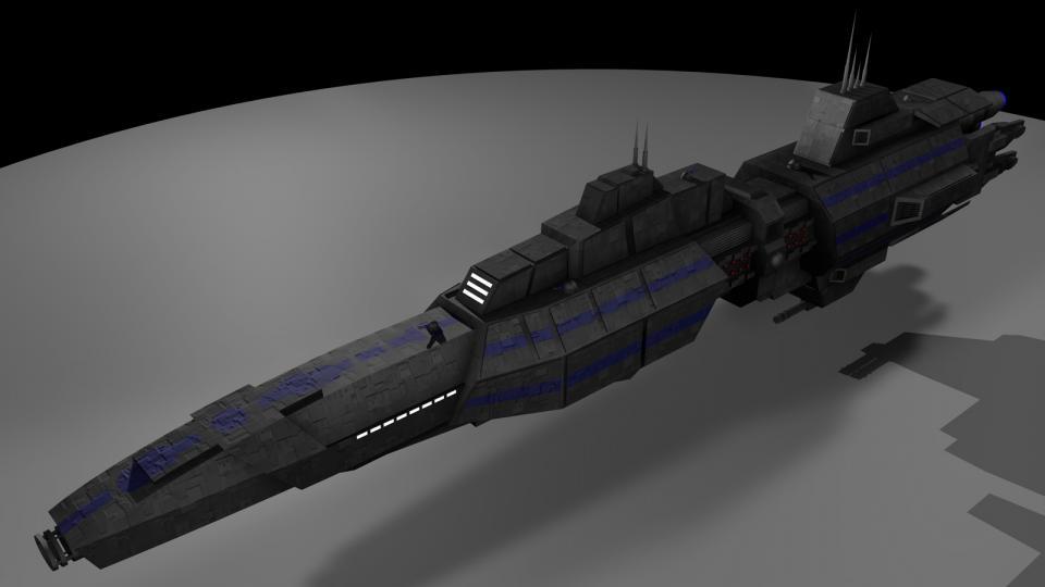 Ich weiß nicht mehr genau, wo dieses Schiff herkam. Ich dachte immer, es wäre ein Schiff aus Babylon 5. Nachdem ich die gesamte Serie gesehen habe, stellte ich fest, dass es nicht darin vorkam. Erstellt August 2005