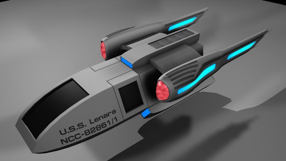 Das R5 ist eine Shuttle-Version, die an Bord von Schiffen der Starbridge-Klasse stationiert ist. Erstellt März 2011
