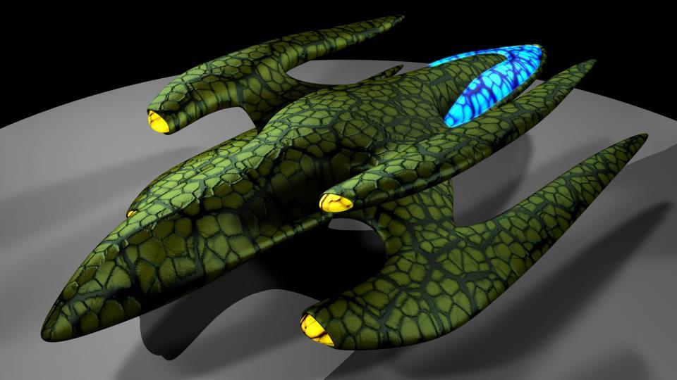 Die Sirron sind eine Spezies, die in Dark Swarm aufgetreten wäre. Ihre Schiffe sind mächtige, organische Lebewesen. Erstellt Juni 2009