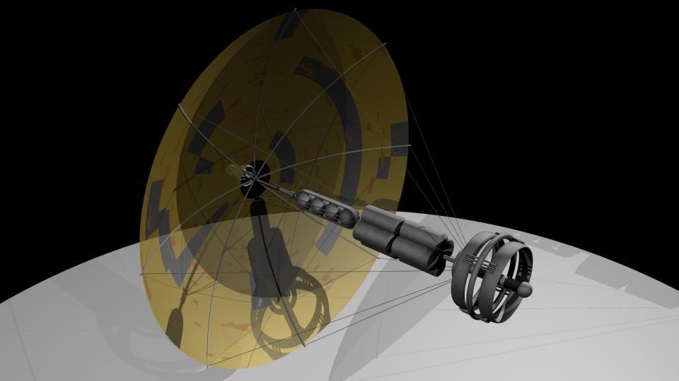Die Highlighter ist ein Frachter der Ith'hijori. Das Schiff wurde tatsächlich von einem Regenschirm inspiriert. Erstellt Mai 2011