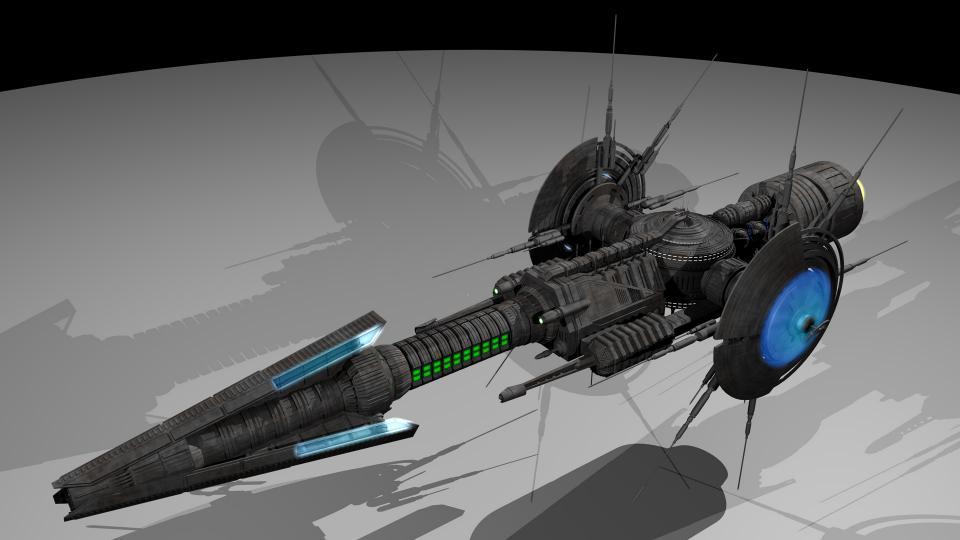 Der Javelin Cruiser war immer eines meiner Lieblingsmodelle. 2014 habe ich das Modell neu erstellt. Dies ist das Resultat. Es ist das komplexeste Modell, das ich je erstellt habe, und es hat mehrere Wochen gedauert, bis es fertig war. Ich liebe das Ergebnis. Erstellt Februar 2014